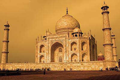 Golden Taj Mahal  Poster