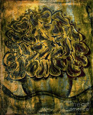 Golden Tapestry Poster by Jolanta Anna Karolska