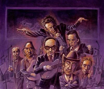 Golden Throats Poster by Ken Meyer jr