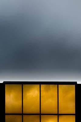Golden Windows Poster