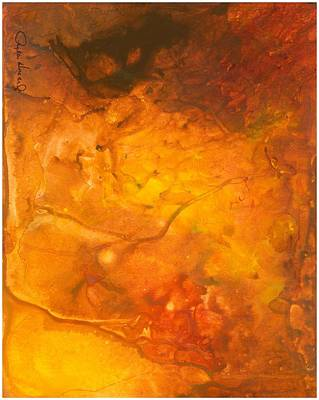 Poster featuring the painting Goldenglow by Phyllis Howard