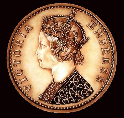 Goldilocks Empress Victoria  Poster by Fred Larucci