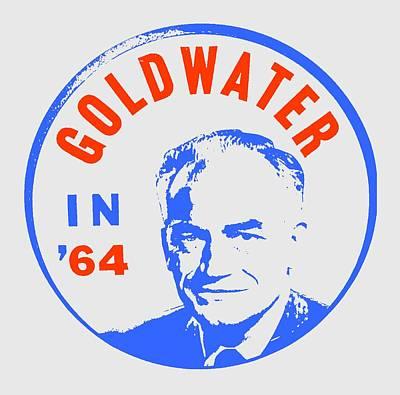 Goldwater In 64 Poster by Otis Porritt