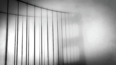 Golen Gate Fog Poster