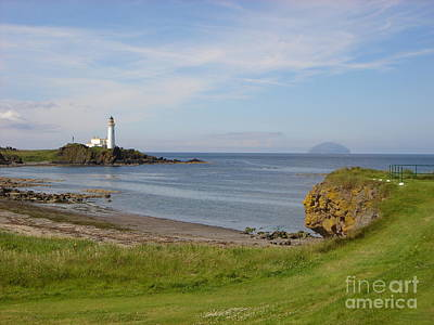 Golf At Turnberry Scotland Poster by Jan Daniels