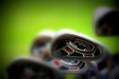 Golf Clubs 2 Poster