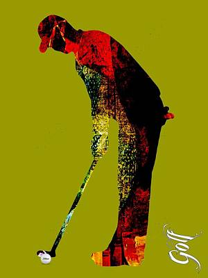 Golf Collection Poster