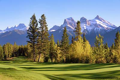 Silvertip Golf Course Poster