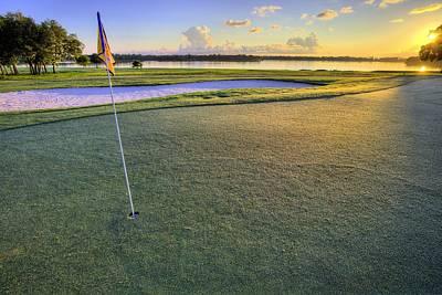 Golf Florida Poster