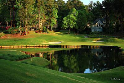Golf The Landing #3 Reynolds Plantation Lake Oconee Ga Art Poster