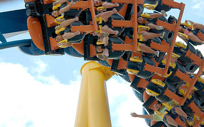 Goliath Rollercoaster Poster