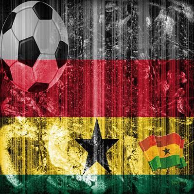 Gollll - Ghana Poster by Fania Simon