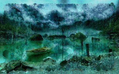 Gollum's Grotto Poster by Mario Carini