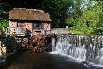 Gomez Mill In Spring #1 Poster by Jeff Severson