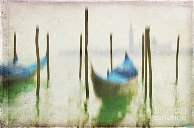 Gondola 3 Poster by Marion Galt