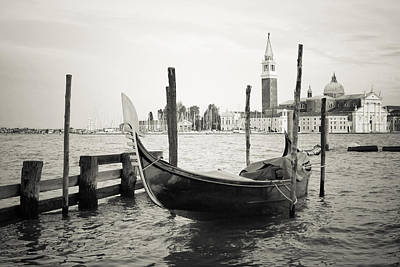 Gondola In Bacino S.marco S Poster