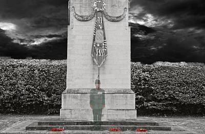 Gone But Not Forgotten - Lest We Forget Poster by Shane Reed