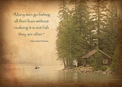 Gone Fishing... Poster
