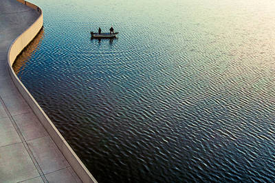Gone Fishing Poster by Todd Klassy