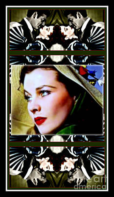 Gone With The Wind Poster by Wbk
