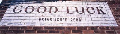 Good Luck Restaurant Poster