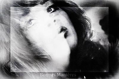 Good Manners Poster by Nicole Frischlich