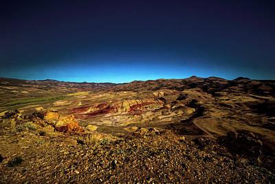 Good Morning From The Oregon Desert Poster