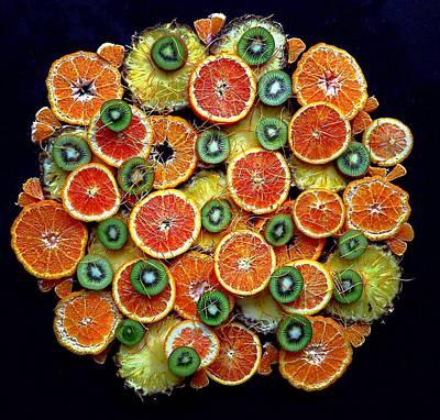 Good Morning Fruit Poster