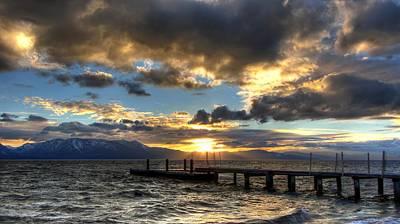 Goodnight Lake Tahoe Poster
