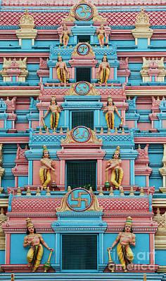 Gopuram Poster by Tim Gainey