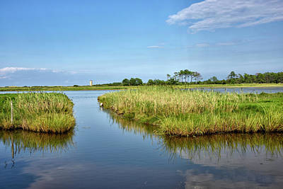 Poster featuring the photograph Gordons Pond - Cape Henlopen Park - Delaware by Brendan Reals