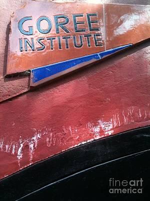 Goree Institute Poster by Fania Simon