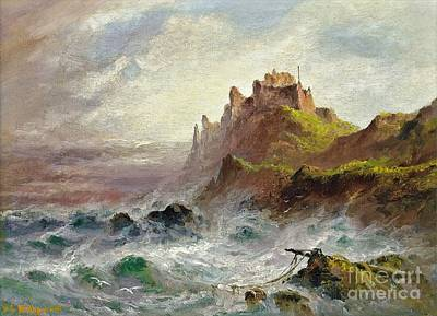 Gorey Castle Poster by MotionAge Designs