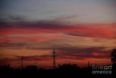 Gorgeous Sunset Love Poster by Reva Steenbergen