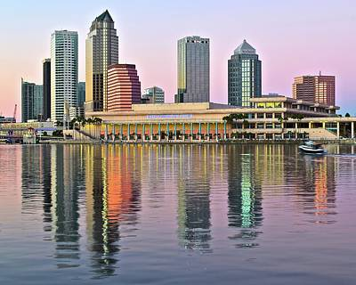 Gorgeous Tampa Bay Poster by Frozen in Time Fine Art Photography