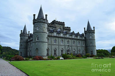 Gorgeous View Of Inveraray Castle Poster