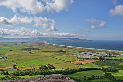 Gortmore Viewpoint, Northern Ireland. Poster