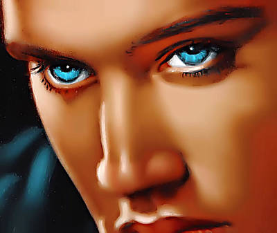 Gospel Elvis Poster