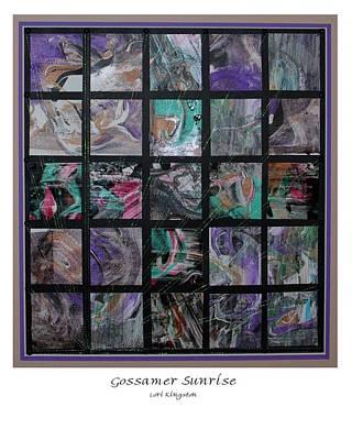Gossamer Sunrise Poster