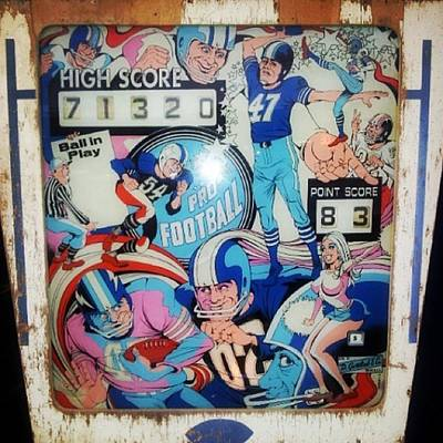 Got Fairly Into Vintage Pinball On The Poster