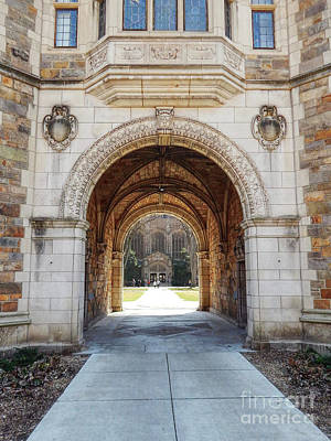 Gothic Archway Photography Poster