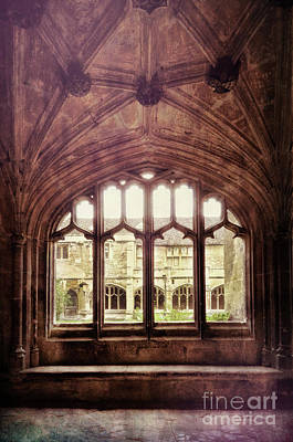 Gothic Window Poster by Jill Battaglia