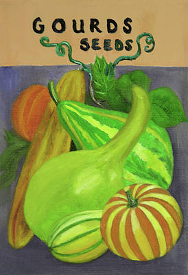 Gourd Purple Poster