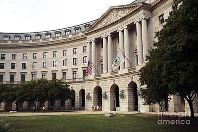 Government Achitecture In Washington Dc Poster