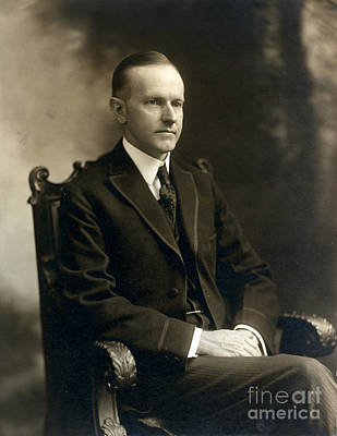 Governor Calvin Coolidge, 1919 Poster