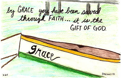 Grace Gift Poster by Kristen Williams