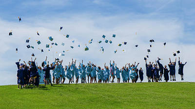Poster featuring the photograph Graduation Day by Alan Toepfer
