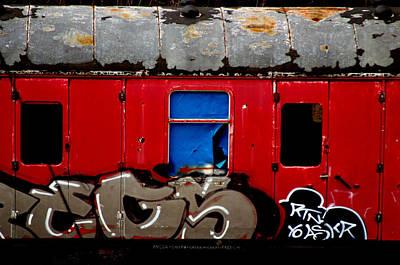 Graff Train Poster