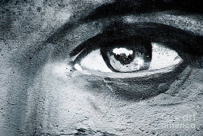 Poster featuring the painting Graffiti Eye by Yurix Sardinelly