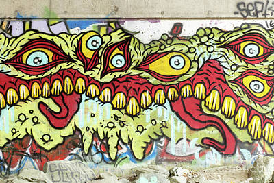 Graffiti Norwich Vermont Poster